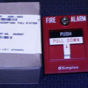 Manual Fire Alarm Pull Station 4009-9003