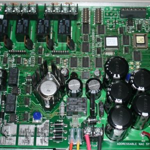 Fire Alarm System NAC Panel CPU Board 565-771