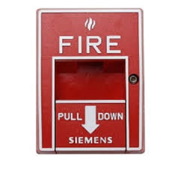 Siemens Red Fire Alarm Manual Pull Station HMS-S