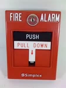 Simplex 4099-9006 pull station