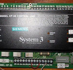 Siemens CP-35 Control Module
