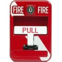 New York Stripe Die Cast Metal Dual Action Pull Station SG-33SK1