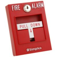 Simplex 2099-9754 Single Action Pull Station Fire Alarm