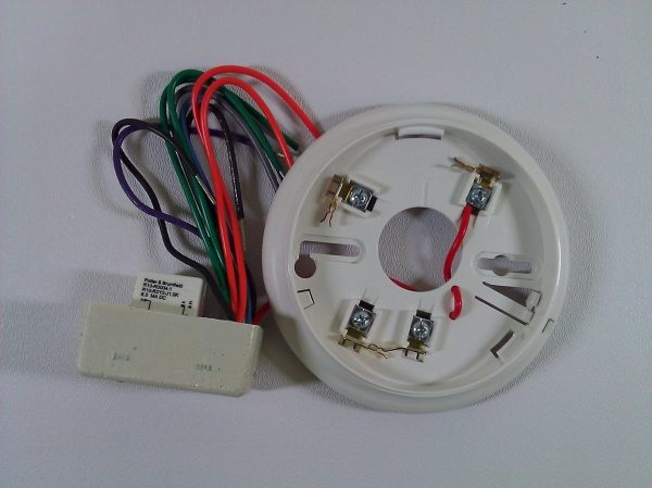 Simplex 4098 9683 2 Wire Relay Base 0677215 Life Safety Consultants