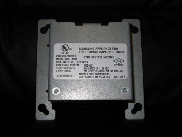 Simplex 4905-9938 SmartSync Control Module