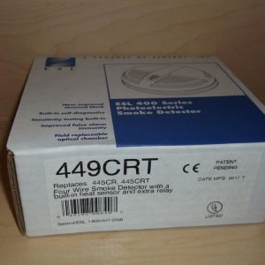 ESL 449CRT Photoelectric Heat and Smoke Detector