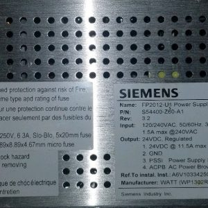 Siemens FP2012-U1 Power Supply (S54400-Z60-A1)
