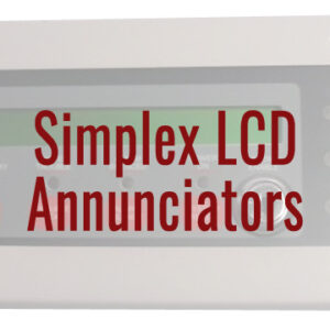 Simplex LCD Annunciators