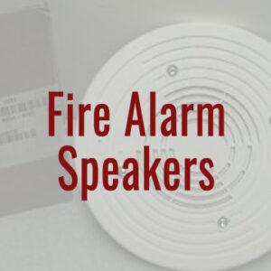 Fire Alarm Speakers