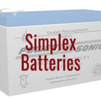 Simplex Fire Alarm Replacement Batteries