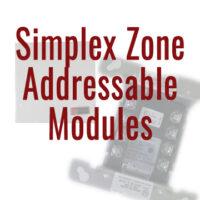 Simplex Zone Addressable Modules