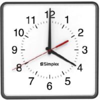 Simplex (2310-9271A) 12″ Square Replacement Synchronized Clock