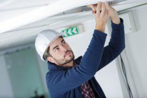 Checking Commercial Smoke Detectors