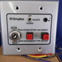 Simplex (6303-9202) Digital Clock / Timer Control Station