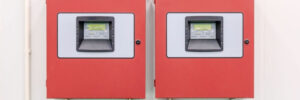 Commercial Fire Alarm System Panel